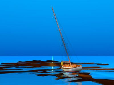 Wrong Tide Chart by Stephen Harlan