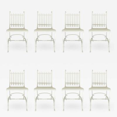 Wrought Iron French Cafe Chairs