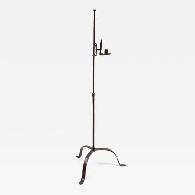 Wrought Iron Lighting Stand