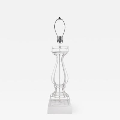 Wrought Iron Urn lamp