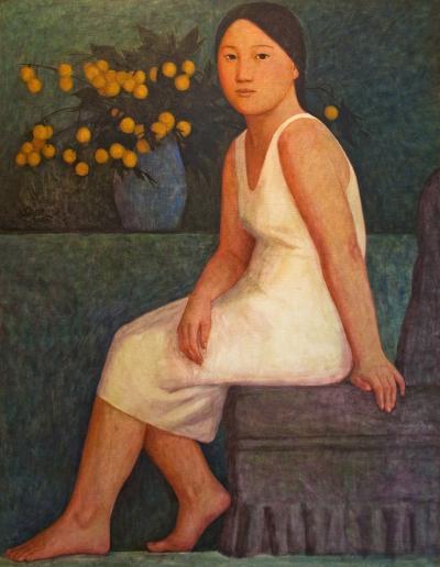 Xue Mo The White Dress