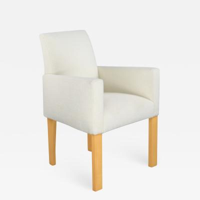 YANG desk side armchair by Hugues Chevalier Paris
