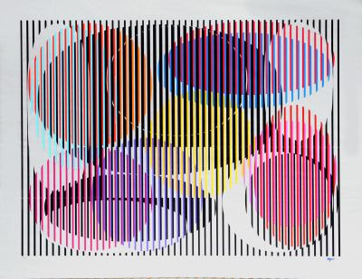 Yaacov Agam Untitled Mirror