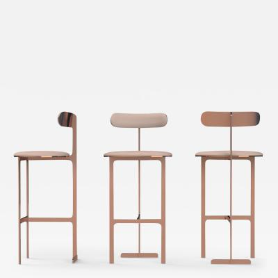 Yabu Pushelberg PARK PLACE STOOLS SET OF 3