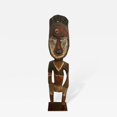 Yam Ancestor Figure on Stand from Padua New Guinea