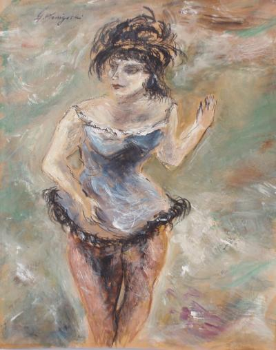 Yasuo Kuniyoshi Circus Girl