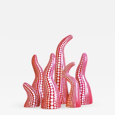Yayoi Kusama Louis Vuitton x Kusama Studio Collaboration Display Objects