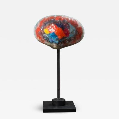 Yeffe Kimball Mushroom Cloud Resin Sculpture by Yeffe Kimball
