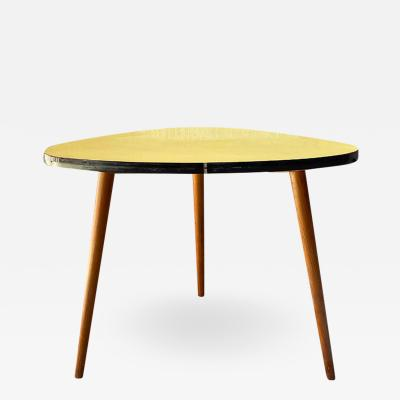 Yellow coffee table 1960s