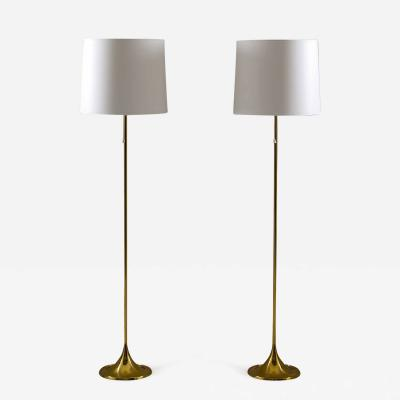 Yngvar Sandstr m Scandinavian Floor Lamps by A Svensson and Y Sandstr m for Bergboms Sweden