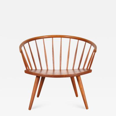 Yngve Ekstr m 1950s Oak Easy Chair by Yngve Ekstro m Model Arka