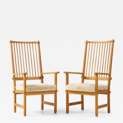 Yngve Ekstr m Pair of Swedish Yngve Ekstr m Chairs circa 1950s