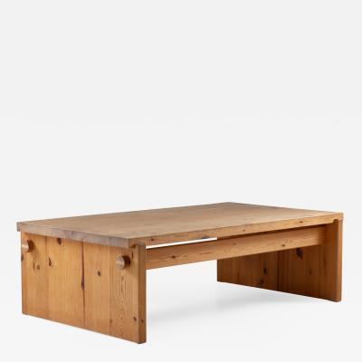 Yngve Ekstr m Scandinavian Coffee Table in Pine by Yngve Ekstr m