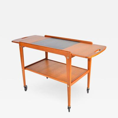 Yngve Ekstr m Tea Trolley or Bar Cart designed by Yngve Ekstrom Sweden 1956