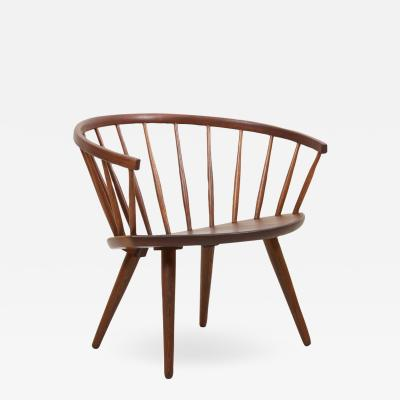 Yngve Ekstr m Wooden Easy Chair Arka by Yngve Ekstr m Sweden 1950s