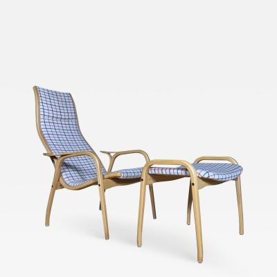 Yngve Ekstr m Yngve Ekstr m Lamino Lounge Chair Ottoman Swedese Designed 1954