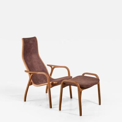 Yngve Ekstr m Yngve Ekstrom Lamino Chair with ottoman Sweden