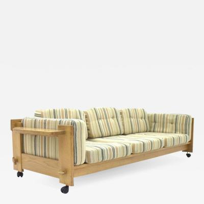 Yngve Ekstrom Rare Three Seat Sofa by Yngve Ekstr m Sweden 1960s