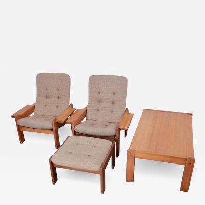 Yngve Ekstrom Rare Yngve Ekstr m Living Room Set for Swedes M bler