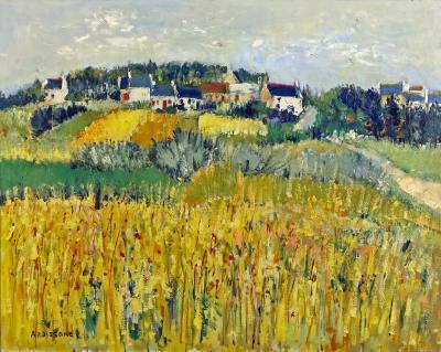 Yolande Ardissone Bles a Saint Philibert by Yolande Ardissone