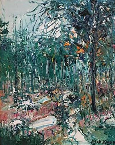 Yolande Ardissone Fontainbleu Forest I