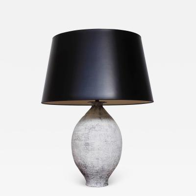 Young Mi Kim Glazed Ceramic Table Lamp by Young Mi Kim