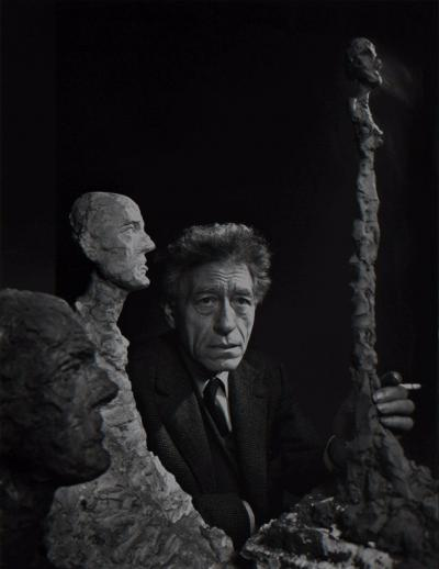 Yousuf Karsh Alberto Giacometti 1956