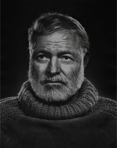 Yousuf Karsh Ernest Hemingway 1957