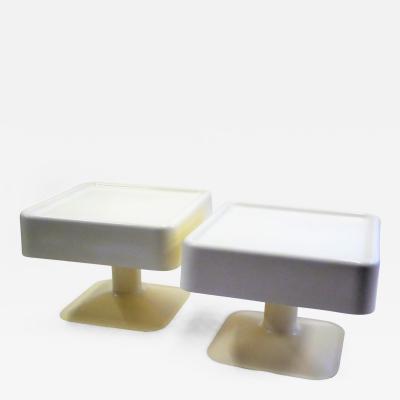 Yrjo Kukkapuro Rare Pair of 1960s Tables by Yrjo Kukkapuro for Haimi Finland