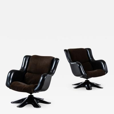 Yrjo Kukkapuro Yrj Kukkapuro Easy Chairs Model 418