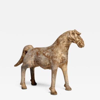 Yuan Dynasty Figure of a Horse