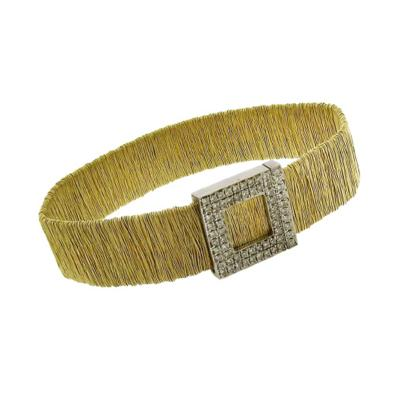 Yvel Yvel Woven Diamond Bracelet