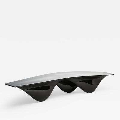 Zaha Hadid Aqua Table Limited Edition White Silicone Top