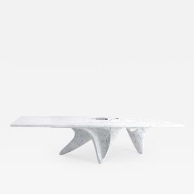 Zaha Hadid Luna Bianco Dining Table