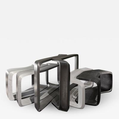 Zaha Hadid Nesta Side Tables designed by Zaha Hadid