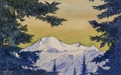 Zama Vanessa Helder Mount Baker Washington