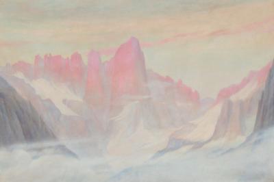 Zarh Pritchard Mt Whitney from Lone Pine 1911