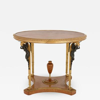 Zwiener Jansen Successeur Antique ormolu mounted centre table by Zwiener Jansen Successeur