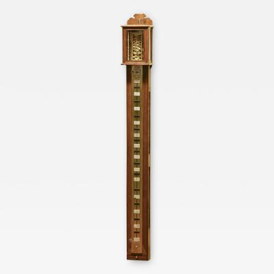 c 1850 Massive Japanese Striking Stick Clock