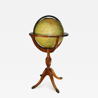 c 1935 American 16 inch Library Globe by Replogle Chicago
