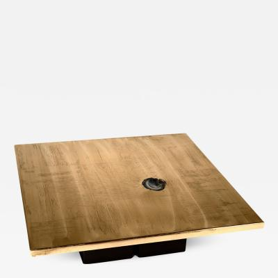 christian heckcsher Square coffee table by Christian Heckscher