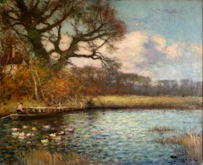 fernand toussaint On the River