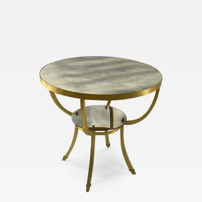 gold leaf superb 2 tier dinning table