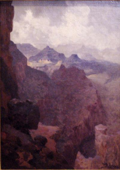 William Robinson Leigh Untitled The Grand Canyon