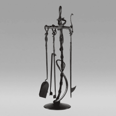 Albert Paley Forged Fireplace Tools 2006