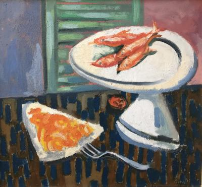 rene Pinchuk Still Life with Fish