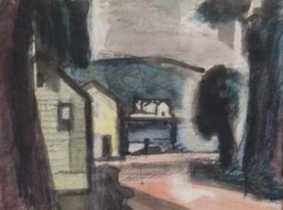 Oscar Bluemner Harlem River 3 1913