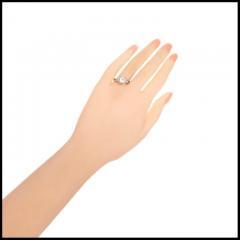 90 Carat Diamond Old European Cut Platinum Engagement Ring - 717697