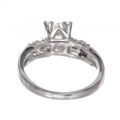 90 Carat Diamond Old European Cut Platinum Engagement Ring - 717698