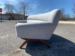 A Mikael Laursen Illum Wikkelso Mikael Laursen 4 Seat Sofa Denmark 1960s - 1318369